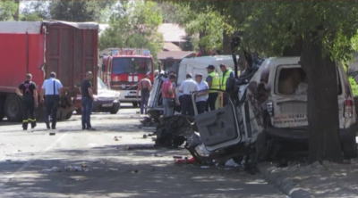 Тежко е състоянието на ранените при катастрофата в Айтос