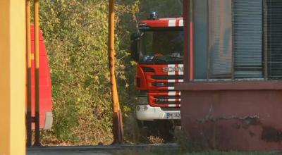 Потушен е пожарът в Захарния комбинат в Пловдив