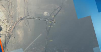 Продължава гасенето на пожара в Хасковско, има готовност да се включи хеликоптер