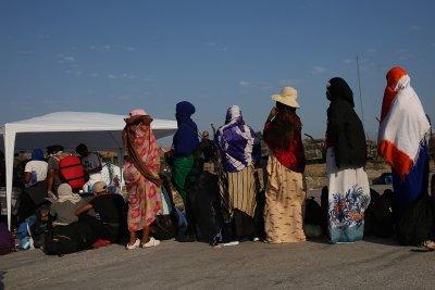 """Протест на Лесбос: Мигранти от лагера """"Мориа"""" искат да бъдат прехвърлени на друго място"""