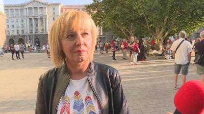 Мая Манолова: Алтернативата е на площада