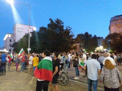 70-а вечер на протест в София