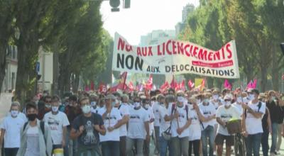 Хиляди протестираха срещу ниските заплати във Франция