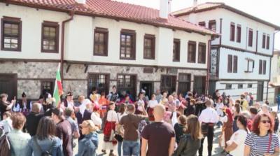 Възстановка на един пазареди ден отпреди 100 години в Злагоград