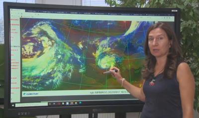 Бурята в Гърция няма да окаже влияние върху времето у нас