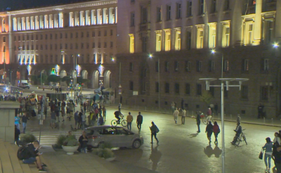 73-а вечер на протести в София