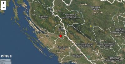 4,2 по Рихтер в Хърватия