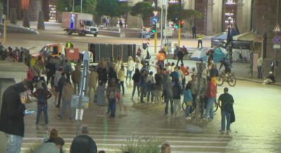 79-а вечер на протести в София