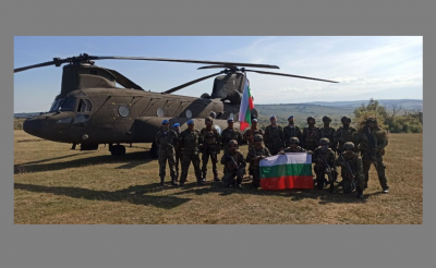 Военнослужещи от СКСО участваха в многонационалното съвместно учение в Румъния