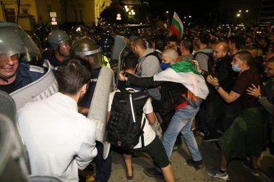 СДВР: Случилото се пред сградата на Народното събрание са нерегламентирани действия