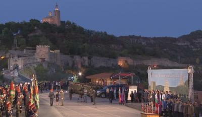 Тържествена заря-проверка по случай 112 години от Независимостта на България