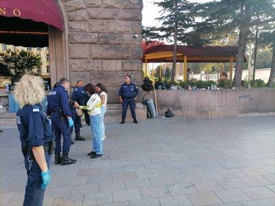 """Строги мерки за сигурност и проверки на КПП-та за протеста """"Велико народно въстание"""" 3"""