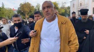 Борисов: Ние сме като едно семейство с Цветанов - след 20-годишен брак и сме се разделили