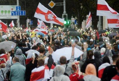 Пореден масов протест срещу Лукашенко