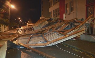 Бурята Алекс нанесе сериозни щети във Франция