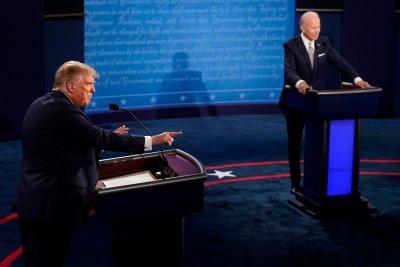 Първият дебат Тръмп - Байдън: Остри реплики, обиди и престрелки с водещия (СНИМКИ)