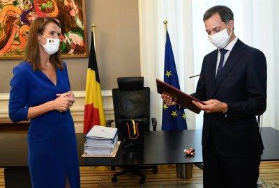 Новото правителство на Белгия положи клетва