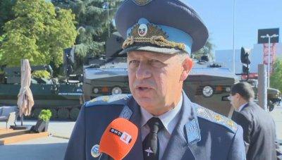 Ген.-майор Стойков за евентуалната покупка на нови F-16: Това е втората фаза за модернизация на българските ВВС