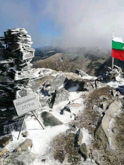 Първи сняг на Мальовица