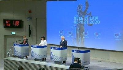 ЕК представи първия доклад по новия механизъм за върховенството на закона