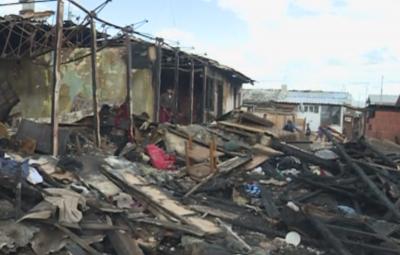 7 семейства са без дом след пожар в Разлог