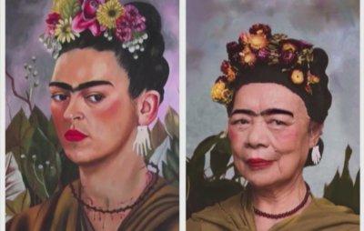 Пресъздадоха известни картини с китайски лица