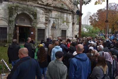 """Започна реставрацията на джамията """"Ибрахим паша"""" в Разград"""