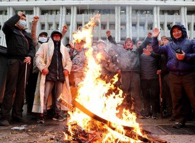 Размирици и протести в Киргизстан