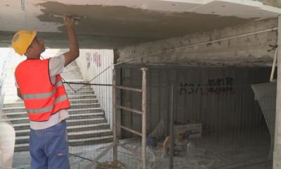 Ремонтират подлеза, който се срути във Варна