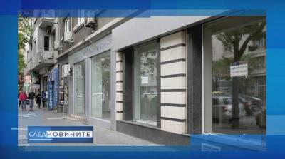 Масово затваряне на магазини и ателиета в централната търговска част на София