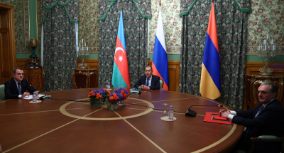 Армения и Азербайджан са се споразумели за спиране на огъня в Нагорни Карабах