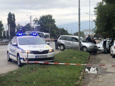 Полицай в София простреля беглец след опит да избегне проверка