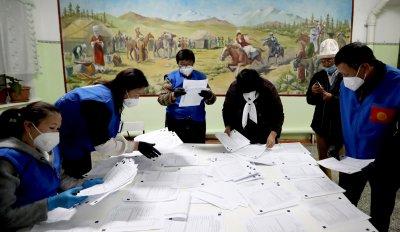 Анулираха резултатите от парламентарните избори в Киргизстан
