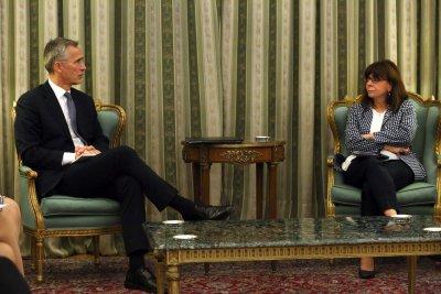 Генералният секретар на НАТО е на посещение в Гърция