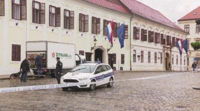 Не са ясни мотивите на нападателя, ранил полицай в центъра на Загреб