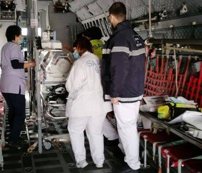 """Транспортираното със """"Спартан"""" бебе остава на лечение във Франция поне месец"""