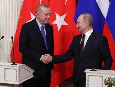 Путин и Ердоган се обявиха за политическо уреждане на конфликта в Нагорни Карабах