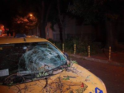 Огромен клон падна върху три автомобила в центъра на Варна