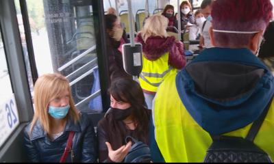 Носят ли пловдивчани маски в градския транспорт