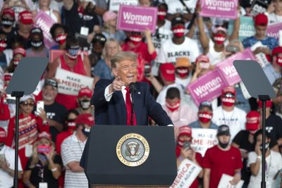 Тръмп избра щата Флорида за първия си митинг след лечението си от COVID-19