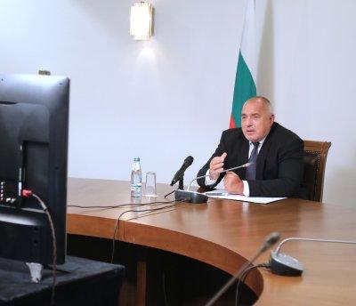 Премиерът Борисов проведе видеоконферентна среща с лидерите на американски еврейски организации