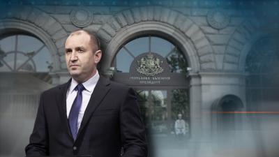 Румен Радев няма контакт с лице с положителен тест за COVID-19, съобщиха от президентството