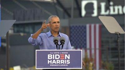 Изборите в САЩ: Обама на митинг в подкрепа на Байдън