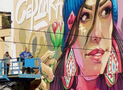 Нов графит в центъра на София