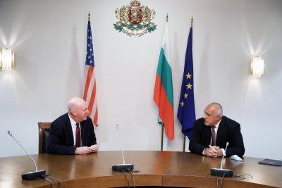 Борисов се срещна с помощник държавния секретар на САЩ Кларк Купър