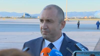 Румен Радев: Нито аз, нито моята делегация сме поставяни под карантина в Естония