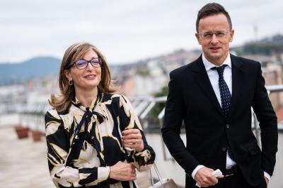 Екатерина Захариева и Петер Сиярто отбелязаха Деня на българо-унгарското приятелство