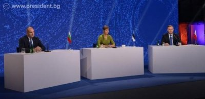 """Румен Радев: Гърция и Кипър са естествено продължение на инициативата """"Три морета"""""""