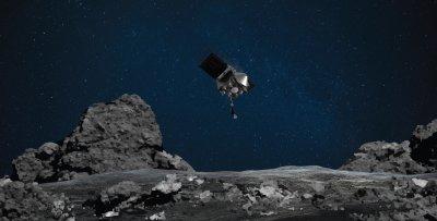 """Мисията на НАСА е успешна: """"Озирис Рекс"""" взе проби от астероида Бену"""