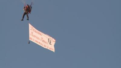 Предложение за брак от 1200 метра височина